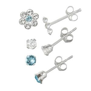 Other - 3 Piece Earring Set